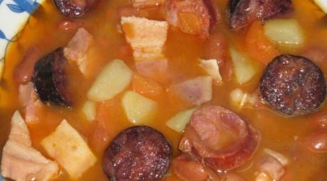 Rescaldo almoço dia 26 de Janeiro - Sopa da Pedra